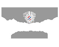 Barbershop Company Text auf einem Transparentem Hintergrund